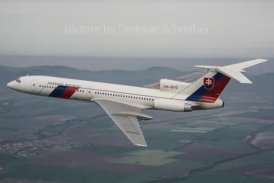 2013-04-29 OM-BYO Tupolev 154 Slovak Government
