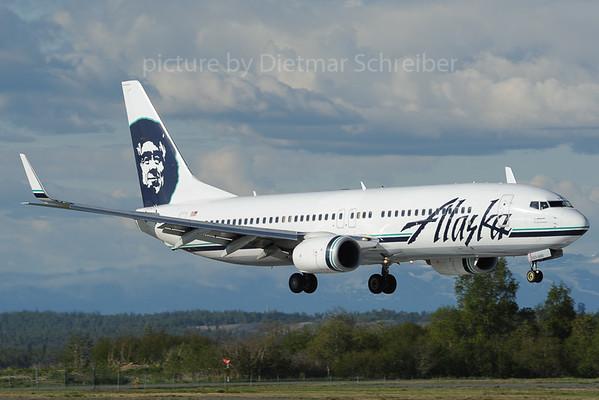 2013-06-05 N523AS Boeing 737-800 Alska AIrlines