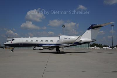2013-08-29 HB-JGB Gulfstream 4
