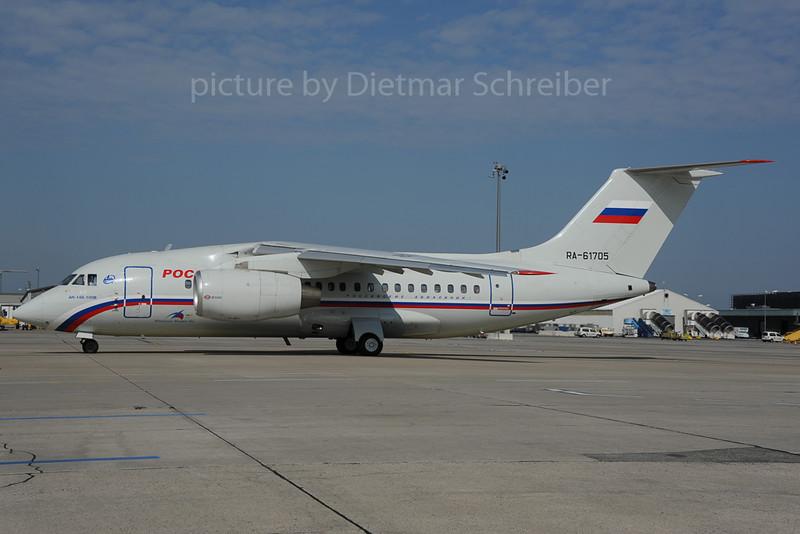 2013-08-29 RA-61705 Antonov 148 Rossija