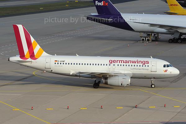 2013-09-16 D-AGWF Airbus A319 Germanwings