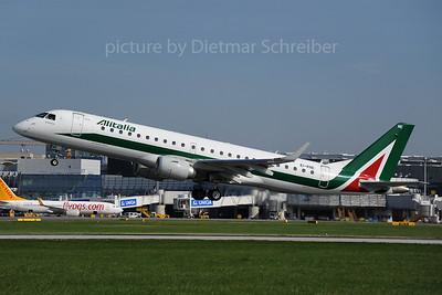 2013-09-28 EI-RNE Embraer 190 Alitalia