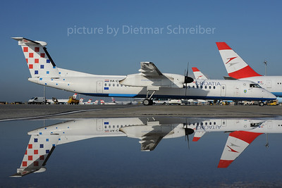 2013-10-31 9A-CQB Dash 8-400 Croatia Airlines
