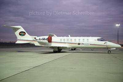 2013-11-29 C-GEJD Learjet 45