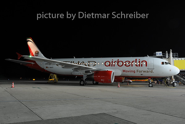 2014-01-16 D-ABDU Airbus A320 Air Berlin