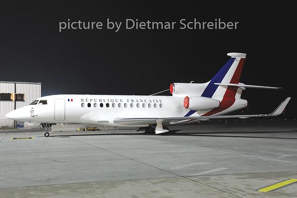 2014-01-16 F-RAFB Falcon 7X French Air Force