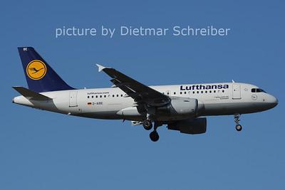 2014-02-28 D-AIBE Airbus A319 Lufthansa