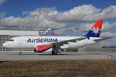 2014-02-28 F-ORAH Airbus A319 Air Serbia