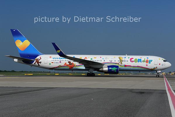 2014-04-30 D-ABUE Boeing 767-300 Condor