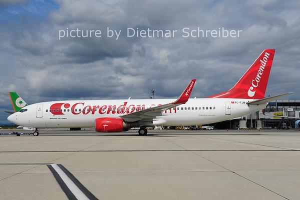 2014-05-30 TC-TJN Boeing 737-800 Corremndon