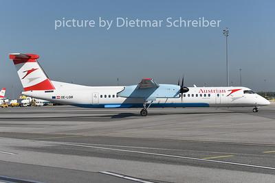 2014-08-28 OE-LGM Dash8-400 AUstrian Airlines