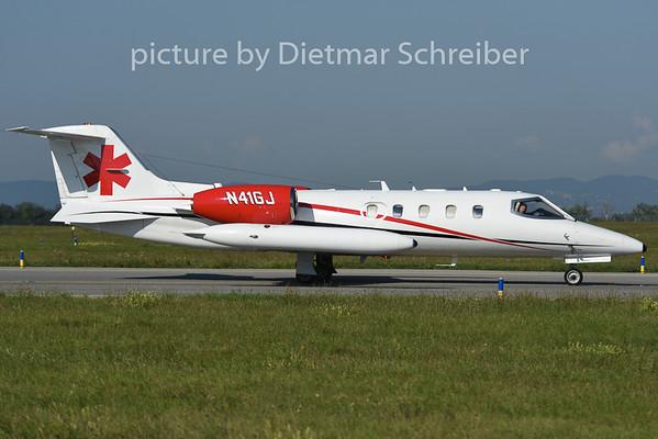 2014-08-28 N416GJ Learjet 35
