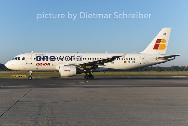 2014-08-29 EC-IZR Airbus A320 Iberia