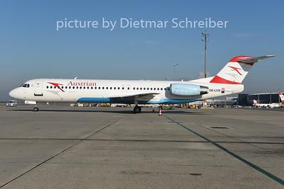 2014-08-29 OE-LVD Fokker 100 Austrian AIrlines
