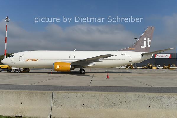 2014-09-29 OY-JTL Boeing 737-400 Jettime