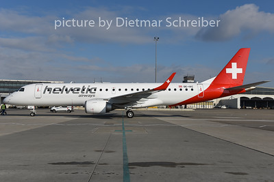 2015-01-28 OE-IXC Embraer 190 Helvetic
