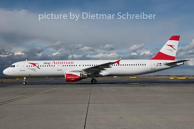 2015-03-30 OE-LBC Airbus A321 Austrian Airlines