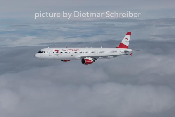 2015-03-26 OE-LBC Airbus A321 Austrian Airlines