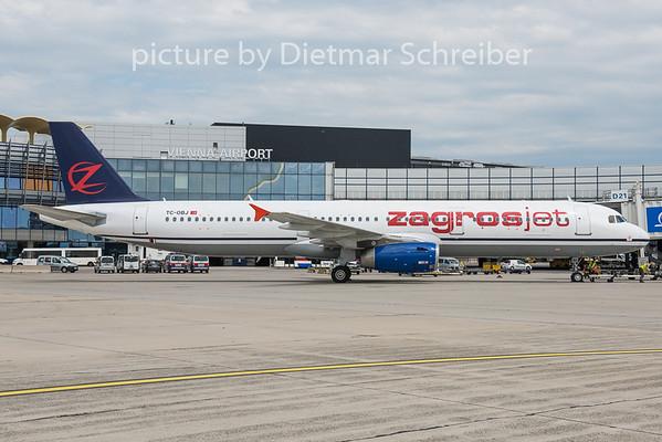 2015-05-30 TC-OBJ Airbus A321 Zagros Jet