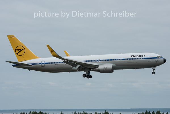 2015-06-20 D-ABUM Boeing 767-300 Condor