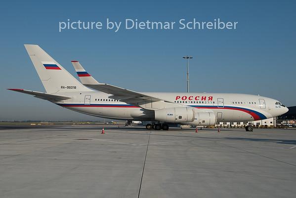 2015-07-01 RA-96018 Ilyushin 96 Rossija