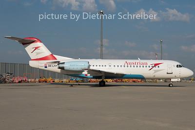 2015-07-02 OE-LFP Fokker 70 Austrian Airlines