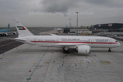 2015-10-30 A6-PFC Boeing 787-8 United Arab Emirates