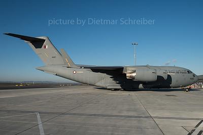 2015-11-24 A7-MAE Boeing C17 Qatar Air Force