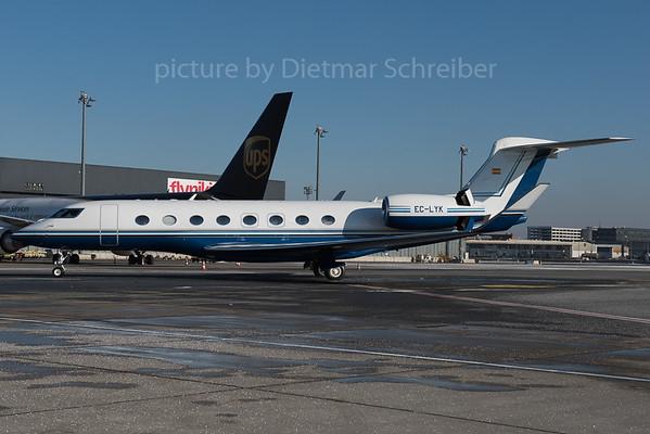 2016-01-22 EC-LYK Gulfstream 650