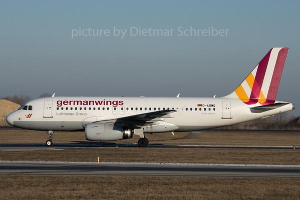 2016-01-22 D-AGWQ Airbus A319 Germanwings