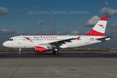 2016-01-29 OE-LDE Airbus A319 Austrian Airlines