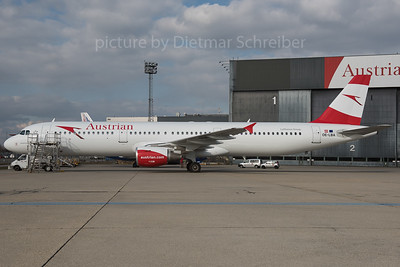 2016-02-26 OE-LBA Airbus A321 Austrian Airlines