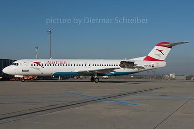 2016-02-26 OE-LVJ Fokker 100 Austrian Airlines