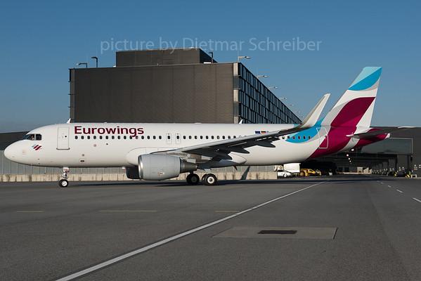 2016-02-26 D-AEWA Airbus A320 Eurowings