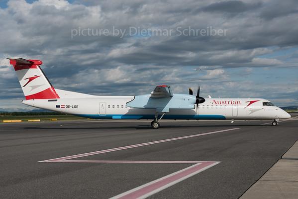 2016-05-31 OE-LGE Dash 8-400 Austrian Airlines