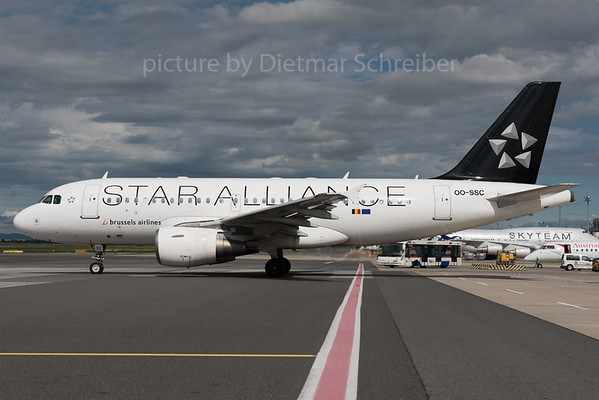 2016-05-31 OO-SSC Airbus A319 Brussels AIrlines