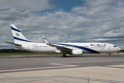 2016-05-31 4X-EHE Boeing 737-900 El AL