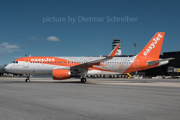 2016-05-31 G-EZOX Airbus A320 Easyjet