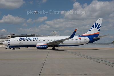 2016-06-28 TC-SEZ Boeing 737-800 Sun Express
