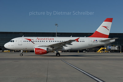 2016-06-28 OE-LDF Airbus A319 Austrian Airlines