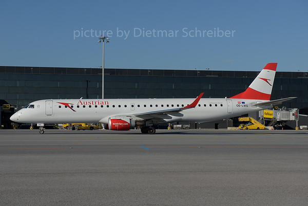 2016-06-28 OE-LWG Embraer 195 Austrian Airlines