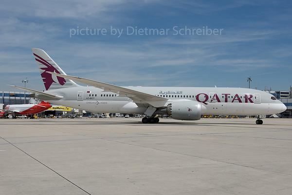 2016-06-30 A7-BCT Boeing 787-8 Qatar Airways
