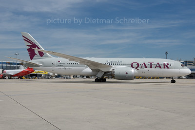 2016-06-30 A7-BCT Boeing 787-8 Qatar Airways