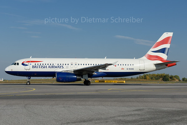 2016-09-30 G-EUUG Airbus A320 British Airways