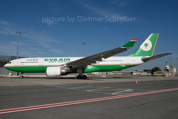 2016-09-30 B-18308 Airbus A330-200 Eva Air