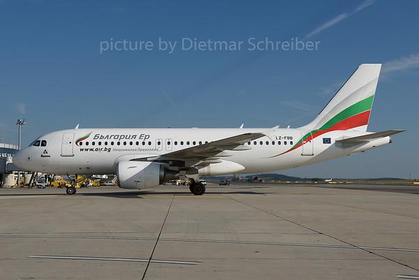 2016-09-30 LZ-FBB Airbus A319 Bulgaria Air