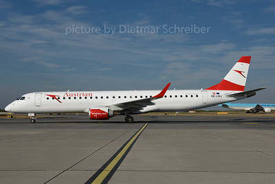 2016-09-30 OE-LWJ Embraer 195 Austrian Airlines