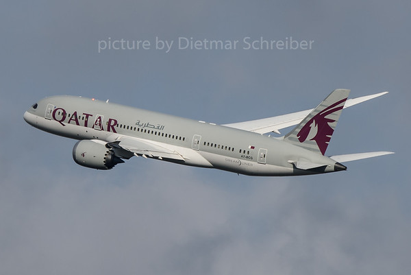 2016-11-27 A7-BCG Boeing 787-8 Qatar Airways