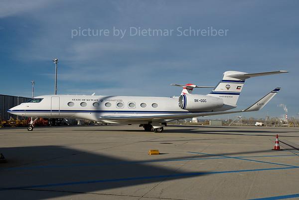 2016-11-30 9K-GGC Gulfstream 650 Kuwait Government