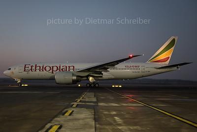 2017-01-27 ET-ANN Boeing 777-200 Ethiopian Airlines
